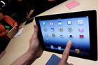 A new Apple iPad on display during an Apple event in San Francisco. Photo / AP