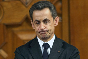 France's President Nicolas Sarkozy. Photo / AP