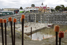 The $250 million Soho square development, one of the projects Strategic Finance lent money to. Photo / NZ Herald