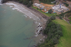 The steel magnate's mansion under construction at Helena Bay, north of Whangarei, could be 15 times larger than the average house. Photo / Greg Bowker
