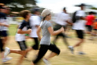 Thousands of people will line up for the annual Round the Bays fun-run. Photo / File