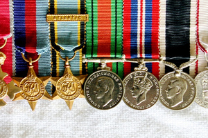 Anybody caught wearing war medals they are not entitled to could be fined $500. File photo / NZ Herald