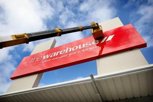 The Warehouse. Photo / Natalie Slade