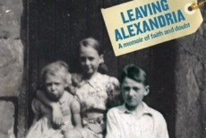 Book cover of Leaving Alexandria. Photo / Supplied