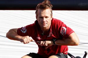 Skipper Chris Nicholson. Photo / NZPA