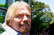 Sir Richard Branson. Photo / NZPA