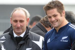 Jock Hobbs and Richie McCaw. Photo / NZPA