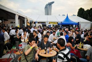 Beerfest Asia in Singapore. Photo / Supplied