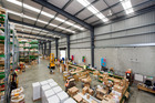 For sale - a big warehouse. Photo / Supplied