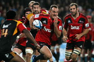 The Crusaders maintain a super standard of play. Photo / APN