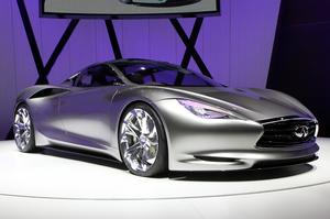 Infiniti's Emerg-E Concept launch at the 2012 Geneva Motor Show. Photo / Supplied