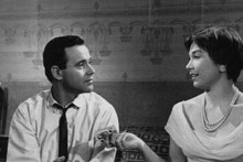 Jack Lemmon and Shirley Maclaine in The Apartment.
