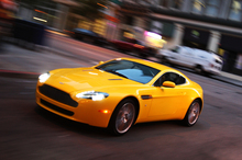 The Aston Martin V8 Vantage will be available at less than $200k. Photo / Supplied