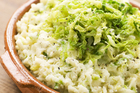 Get ready for St Patty's with the heart-warming colcannon dish of greens and potatoes. Photo / Thinkstock