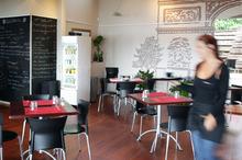 Cafe French Rendez-vous, Takapuna. Photo / Sarah Ivey