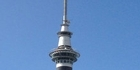 Watch: Raw video: Chopper gets close to Sky Tower