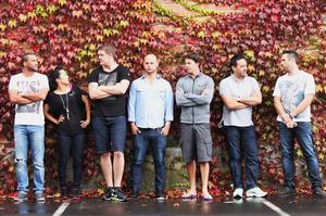 Gareth Stewart, Sachie Nomura, Hayden McMillan, Jason Van Dorsten, Nick Honeyman, Warren Turnbull and Mark Harman. Photo / Supplied