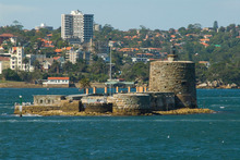 At only 70 metres long, Fort Denison is the smallest of Sydney Harbour's islands and the closest to the city's CBD. Photo / Thinkstock