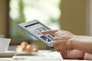 Amazon's Kindle e-reader. Photo / Supplied