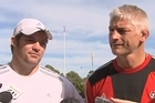Richie McCaw and Todd Blackadder both took the chance to pay tribute to rugby legend Jock Hobbs today.
