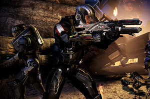 Mass Effect 3 continues the epic space series. Photo / Supplied