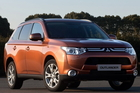 The hybrid Mitsubishi Outlander SUV will arrive in New Zealand next year. Photo / Supplied