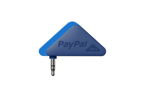 PayPal's smartphone payment dongle is very similar to that offered by Square. Photo / Supplied