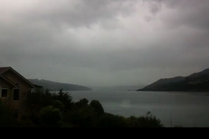 Watch timelapsed video of a southerly hitting Dunedin yesterday. Photo / Youtube