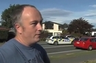 Witness Kevin Mcllroy tells nzherald.co.nz about a knife-wielding man's rampage in Christchurch that left two people seriously injured with stab wounds and only ended when police tasered, then shot him.
