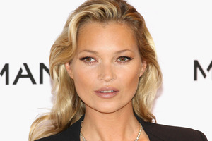 Model Kate Moss has equipped her new house with a bedroom for her hairdresser. Photo / Getty Images
