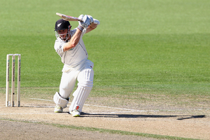 Kane Williamson scored 77 in the second test. Photo / Getty Images
