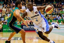 Cedric Jackson of the Breakers in action against the Townsville Crocs. Photo / Getty Images