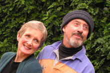 Helen Moulder and Sir Jon Trimmer combine their talents to perform Meeting Karpovsky at Howick. 