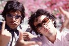 Flight of the Conchords stars Jemaine Clement and Bret McKenzie as they appeared in 2004. Photo / Supplied