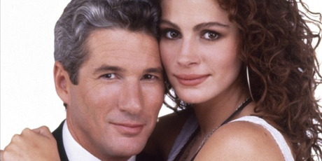 Richard Gere and Julia Roberts in the 1990 film Pretty Woman. Photo / Supplied