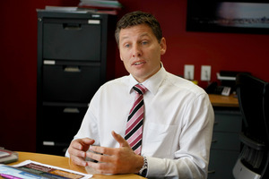 Andrew McKenzie, council chief financial officer, estimated $974 would be added to every Auckland ratepayer's bill if the $487 million were to be charged in one year, an unreasonable burden. Photo / Steven McNicholl
