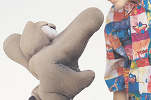 Thingee was a TV puppet who appeared with Jason Gunn on after-school TV shows. Photo / Supplied