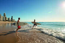The Gold Coast's 70km of beaches are its biggest asset, but now it wants word to go out that it is also Australia's fastest-growing sporting city. Photo / Tourism Queensland