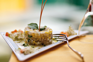 Tahitian snapper tartare. Photo / Supplied