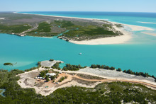 Willie Creek in Western Australia is one of the thriving pearl farms on the Kimberley Coast. Photo / Supplied
