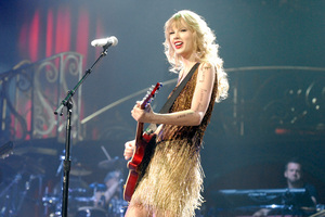 Taylor Swift had her fans screaming at her concert last night. Photo / Michael Craig