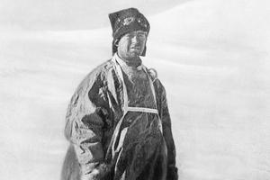 Captain Robert Falcon Scott (1868-1912). Photo / AP