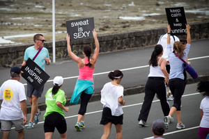 More than 70,000 people ran in the Round the Bays event in Auckland. Photo / File