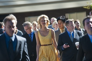 Fresh perspective: Laura Dern gets a new outlook in Enlightened. Photo / Supplied