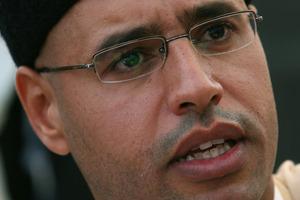 Saif al-Islam Gaddafi. Photo / AP