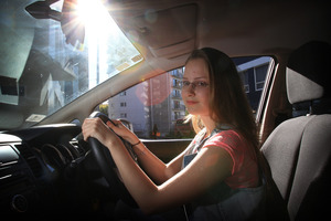 Driving student Maria Polishchuk has been taught the old rules but thinks learners will find it easier to adapt to the change. Photo / Greg Bowker