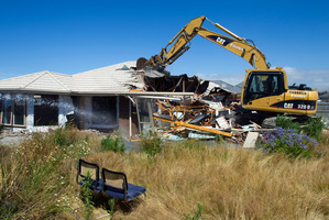 Real estate agents have reported a severe lack of rental properties in Christchurch - needed by families who are having their earthquake damaged homes fixed.  Photo / Simon Baker
