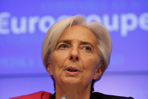 Christine Lagarde, Managing Director of the IMF. Photo / AP
