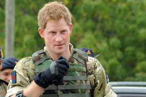 Prince Harry will be deployed to Afghanistan. Photo / AP