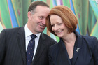 John Key and Julia Gillard will join other world leaders at the Nuclear Security Summit in Seoul on March 26. Photo / Greg Bowker